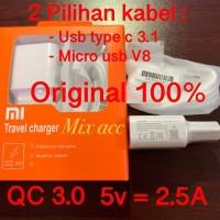 CHARGER XIAOMI ORIGINAL FAST CHARGING QC 3.0 5V 2.5A / 9V 2A