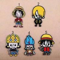 Iron patch one piece kartun Jepang / bordir tempel one piece import