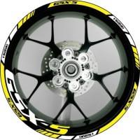 Stiker Velg Motor Suzuki GSX S 150 utk Velg Ring 17.