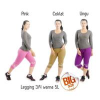 Celana Legging 3/4 Warna 5L