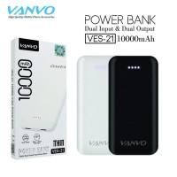 POWERBANK VANVO ORIGINAL 10000 MAH VES-21 POWER BANK ULTRA THIN PB