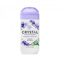 Crystal Body Deodorant, Natural Deodorant, Lavender & White Tea (70 g)