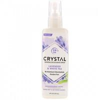 Crystal Body Deodorant, Mineral Deodorant Spray, Lavender & White Tea