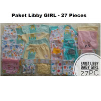 Paket Newborn Libby Original - 27pc - Paket Baju Bayi new born