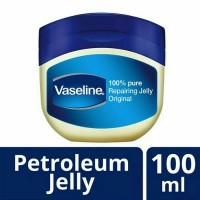 VASELINE Petroleum Jelly Repairing Jelly 100ML Pure 100% On SALE MURAH