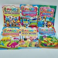 Buku Mewarnai Anak TK dan Paud Mengenal dan Mewarnai/ HVS