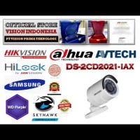 NEW IP HIKVISION 1080P DS-2CD2021-IAX / H.265+ LENSA 4.0mm
