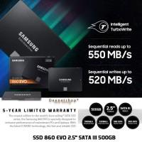 SA 2548 SSD SAMSUNG 860 EVO 500GB 2.5INCH SATA III