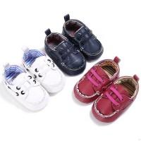 Sepatu Fashion Bayi Laki Laki Perempuan Belajar Jalan Anti Licin Renda