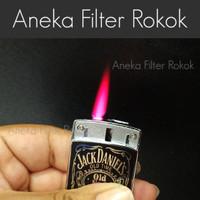 Korek Api Bara Slide Jack D   Single Jet Flame Lighter