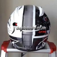 KYT Helm RC Seven full face -11 white-gunmetal