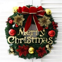 Top Brand Christmas Holiday Wreath Door Ornament Garland Decoration