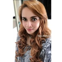 Hot Produk Hair Clip Styleist 3 Layer Curly / Lurus Blonde / Hairclip