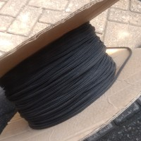 Sleeving kabel 3mm hitam