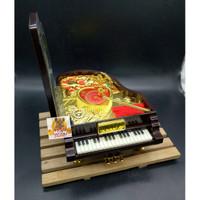 Kotak perhiasan GRAND Piano / Kotak musik / Jewelry Music Box 9092