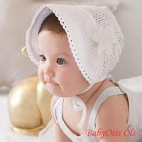 Topi Noni Bayi Perempuan Bonnet Hat