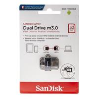 SANDISK USB 3.0 ULTRA DUAL DRIVE m3.0 OTG 32GB GARANSI RESMI