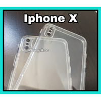 Case Iphone X Silicon Bening - Softcase Clear Iphone Xs