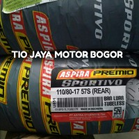 BAN ASPIRA PREMIO 110/80-17 REAR TYPE SPORTIVO TUBLES