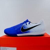 Sepatu Futsal Nike Phantom Venom Academy IC White Blue AO0570-104 Ori