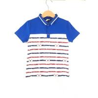Y0003 Baju Anak Pakaian Berkerah Kualitas kaos Import