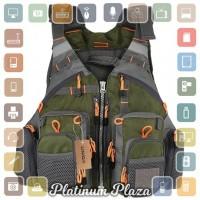 Rompi Pancing Life Jacket Multi Slot - Green