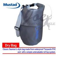 Mustad 20L Waterproof Dry Bag - MB011 Tas Pancing Anti Air