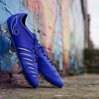 sepatu bola concave halo+ fg blue