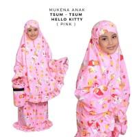 Mukena Grosir Mukenah Anak Tsum Tsum Hello Kitty Pink Tas Tabung M