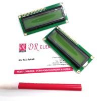 LCD Hijau Green 1602 16*2 2*16 16x2 2x16 Display Module Modul Arduino