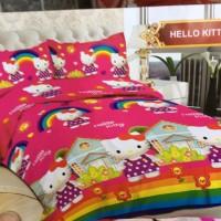 Sprei Bonita Size King 180 x 200 Motif Hello Kitty Happy
