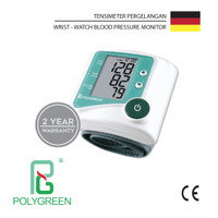 Tensimeter Digital Pergelangan Wrist-watch Blood Pressure Polygreen