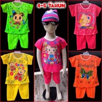 Unik Baju Setelan Anak Perempuan 4-5 tahun Diskon