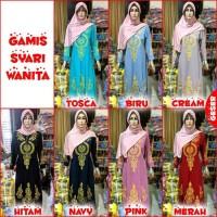 Dijual Baju Gamis Syari Wanita BORDIR EMAS Limited