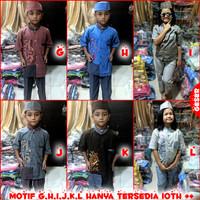 Baju Muslim Anak Premium 5-12 tahun MARUNO - Motif Tulis Ket Diskon