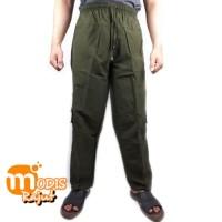 Celana Cargo Panjang Tactical premium Katun Twill