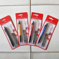 Pensil mekanik 0.5mm Faber Castell set