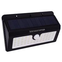 Lampu solar taman tenaga surya PIR Motion sensor gerak 55 LED kuning