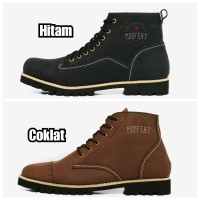 Sepatu Boots Kerja Pria Kulit MOOFEAT ORIGINAL HANDMADE