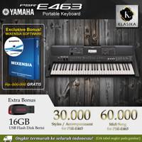 PSR E463 / PSRE463 / PSR E 463 Garansi Yamaha - Keyboard penerus e453