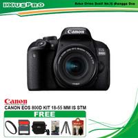 Canon eos 800D Kit 18-55 MM IS SM PAKET BONUS
