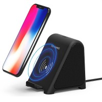 Terbaru 2 In 1 R8 Wireless Charger bluetooth Speaker Stereo Mini