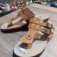 Sandal Wanita Flat Model Rosta