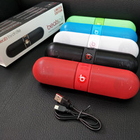 Speaker Bluetooth Beats Pill Dr Dre Speaker Bluetooth Stereo Kapsul