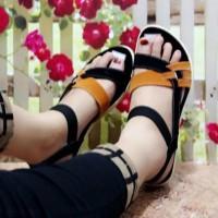 hot sale sandal wanita sepatu sendal wanita tali warna bukan carvil
