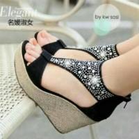 Hot Sale!! Sepatu Wanita Wedges Sandal Sneakers Murah Kets Nike Adidas