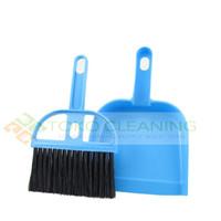 Sapu Mini 1 Set Serok Dust Pan Pengki Serokan Sekop Kebersihan Cleanin
