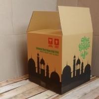 Best Seller Box Bingkisan Kardus Parcel Lebaran 30X30X33Cm - Coklat