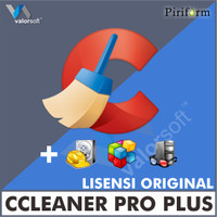 Lisensi Key CCleaner Pro Plus - ORIGINAL - RESMI
