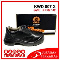 KING'S KWD 807 X Size 6 Sepatu Kerja Safety ASLI KINGS